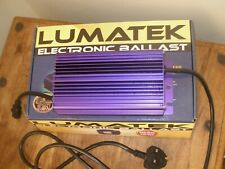 3 x New Lumatek 400w dimmable digital ballast
