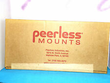TV Mounting Bracket Peerless Mounts SF640  New Unused In Manufacturer's Box Blk