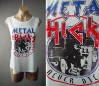 Metal Chicks Graphic Moto Punk Rock Biker Muscle Tee Tank Top 239 mv Shirt S M L