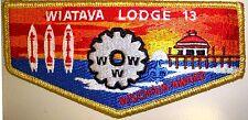 OA WIATAVA LODGE 13 ORANGE COUNTY COUNCIL PATCH GMY WISCHIXIN AWARD SERVICE FLAP