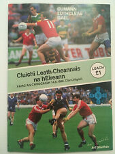 1988 GAA All-Ireland Football S-Final CORK v MONAGHAN Programme