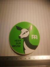 S2. retro sticker CM HEER SUR MEUSE VACATION PARK DEER BAMBI autocollant