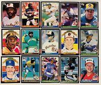 (15) 1985 Donruss Baseball Card Lot Cal Ripken Jr. Joe Morgan George Brett