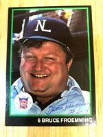 MLB UMPIRE Bruce Froemming AUTOGRAPHED HAND SIGNED 1988 UMPIRES CARD #11