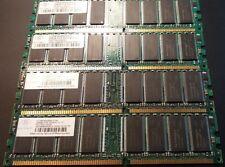 Nanya 1GB (4 x 256MB) NT256D64S88ABG-6 ADY 184p PC2700 CL2.5 8c 32x8 DDR