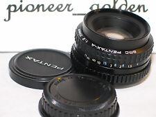 PENTAX SMC A 50mm 1:2 LENS for Pentax 35mm SLR , DSLR Camera w/original caps