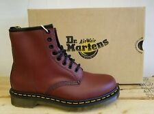 Dr Martens 1460 Cherry Red Smooth Leather Lace Up Boots for Women