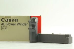 【NEAR MINT in BOX】 Canon AE Power Winder FN Motor Drive for New F-1 from JAPAN
