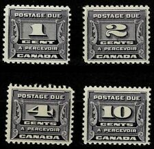 CANADA 1933/34 POSTAGE DUE SET MOUNTED MINT