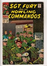 SGT FURY #60 (1968-11) MARVEL Nick Fury and his Howling Commandos WWII