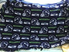 Seattle Seahawks fringed throw