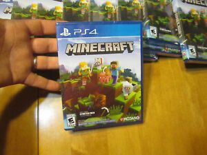 MINECRAFT STARTER PACK COLLECTION PS4 SONY BRAND NEW FACTORY SEALED US EDITION