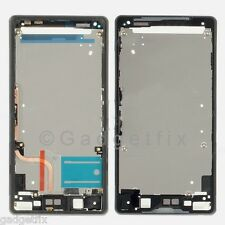 US Sony Xperia Z2 D6502 D6503 Touch Holder Bezel Housing Chasis Frame + Adhesive
