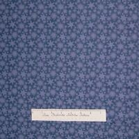 Christmas Fabric - Not a Creature was Stirring Blue Snowflake Toss - RJR YARD
