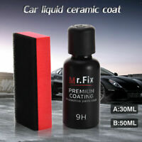 30/50ml Mr Fix 9H Anti Scratch Car Polish Liquid Ceramic Coat Auto Glass