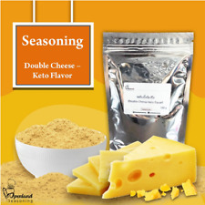 DOUBLE CHEESE SEASONING POWDER, KETO, USE TO COOK FRIED FOOD AND OTHERS.100 g
