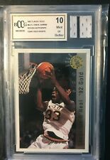 1992 Classic Gold Shaquille O'neal Rare Error With Piece of Game Used Shorts RC