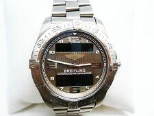 Breitling E79362 Aerospace Avantage Chronometre Titanium Box and Papers