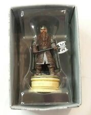 Eaglemoss Lord Of The Rings Chess # 11 GIMLI - White Pawn Boxed