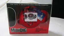 MiniDIG Digital Camera KeyChain - Camera, Digital Video Recorder, PC Cam - NIB