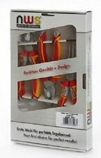 NWS VDE CUTTER AND COMBI AND LONG NOSE PLIER SET 3 PIECE NW782-3K