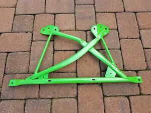 BMW E36 M3 OEM Lime Green Chassis Cross Brace X-Brace Reinforcement #517184102