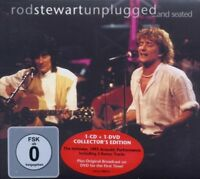 "ROD STEWART ""UNPLUGGED...AND SEATED"" CD+DVD NEW+"