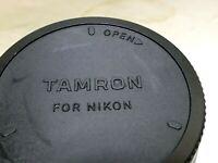 Tamron  REAR Lens Cap For Nikon F mount Tamron SP 35mm f1.4 Di USD