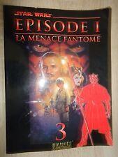 Star Wars Episode 1 tome 3 La menace fantôme roman photos de 1999