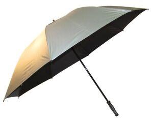 Hurricane Golf Umbrella silver coated  FREE POSTAGE