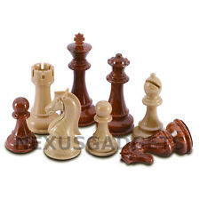 Nena Chess PIECES ONLY Weighted Set X LARGE 4.25 In King, EXTRA QUEENS, NO BOARD