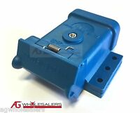 BLUE ANDERSON PLUG MOUNTING KIT 50A  MOUNT COVER DUST CAP EXTERNAL TRAILER