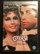 Grease ...Is The Word DVD • BRAND NEW SEALED • FREE POSTAGE • John Travolta