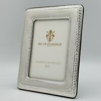 """1010 //9×13 USA 3,5""""x 5,1"""" inches Solid 925 Sterling Silver Photo Picture Frame"""