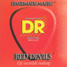 DR RDE-10/52 Extra Life Red Devils Coated Guitar Strings 10-52