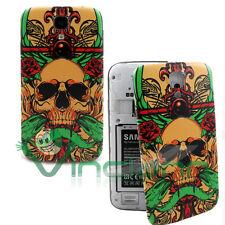Cover copri batteria Skull per Samsung Galaxy S4 i9505 copribatteria Teschio