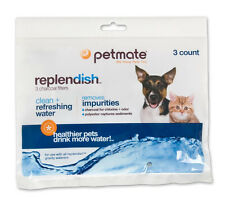 PETMATE REPLENDISH FOUNTAIN FILTERS CHARCOAL 3 PACK. TO THE USA