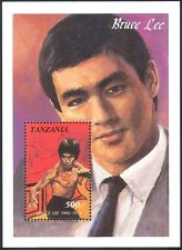 Tanzania 1992 Bruce Lee/Martial Arts/Cinema/Film/Sports 1v m/s  SGMS1135 (s2439)