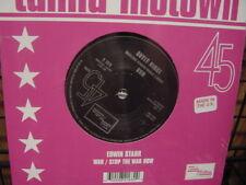 EDWIN STARR RARE MOTOWN/TAMLA AUDIOPHILE RARE 45 SINGLE WAR & STOP THE WAR NOW