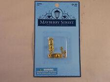 Vintage Dollhouse Miniature Colonial Door knob & Key Hardware Mayberry Street