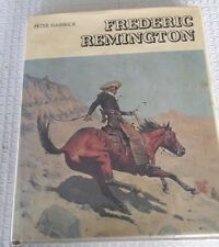 Frederic Remington Sculpture Drawing Painting Hassrick 1973 Illustrated Book