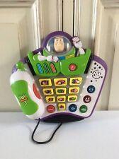 ☺ Jouet Vtech Téléphone Éducatif Buzz L'éclair Toy Story 3 Disney Pixar