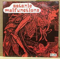 """SATANIC MALFUNCTIONS I've Just Had About All I Can Take Ep 1987 UK 7"""" Vinyl"""