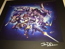Heroes of the Storm HearthStone BlizzCon 2014 VIP Dinner ARTIST SIGNED PRINT