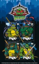 Palau-2009 TEENAGE MUTANT NINJA TURTLES 25TH ANNIVERSARY SHEET OF 4 STAMPS - MNH