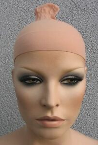 Unterziehhaube Haarnetz Perückennetz Haar Netz Haube wig cap Perücke in BEIGE