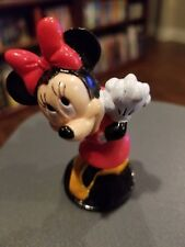 """Disney Minnie Mouse Applause 2.5"""" Cake Topper Free Shipping Red Dress"""