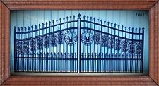 Free Shipping* New Orleans Style Driveway Gate #1081 14Ft Wd Ds Home Security