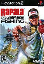 Rapala Pro Bass Fishing (Sony PlayStation 2, 2010) BRAND NEW NEVER USED