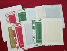 Anna Griffin Christmas Holiday Home Slider Card Making Set of 10